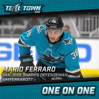 One on One with Mario Ferraro - San Jose Sharks - 4-27-20