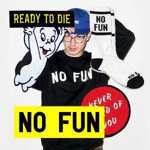 "Reilly Hodgson - Creator of ""NO FUN PRESS"" Apparel Brand"