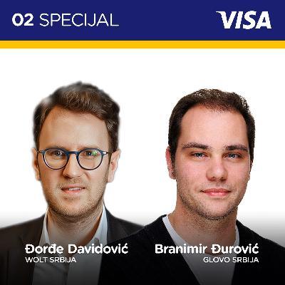 Pojačalo Visa specijal EP 2: Kako funkcioniše dostava hrane i namirnica kroz aplikacije
