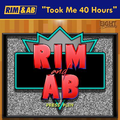 """""""Took Me 40 Hours"""" 