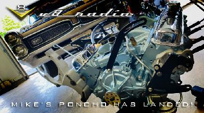 Installing Mike's 1967 Pontiac GTO Engine, Automotive Trivia, and much more on the V8 Radio Podcast!