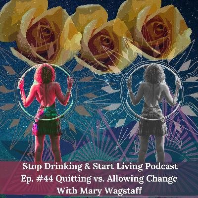 Ep. #44 Quitting vs. Allowing Change
