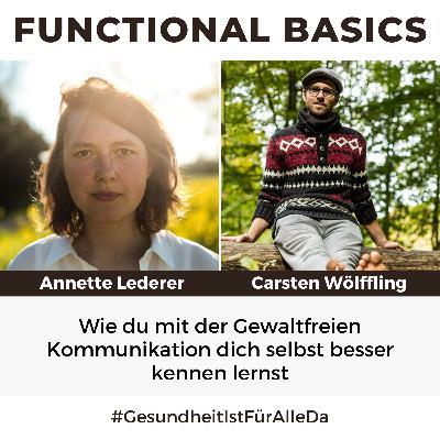 #184 Wie du mit der Gewaltfreien Kommunikation dich selbst besser kennen lernst mit Annette Lederer