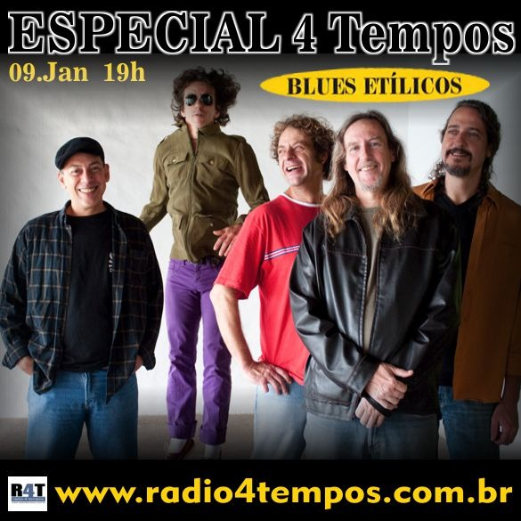 Rádio 4 Tempos - Especial 4 Tempos - Blues Etílicos