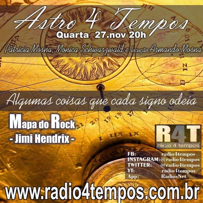 Rádio 4 Tempos - Astro 4 Tempos 26:Rádio 4 Tempos