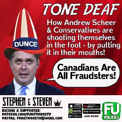 STEPHEN/STEVEN - TONE-DEAF ANDREW SCHEER!