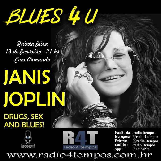 Rádio 4 Tempos - Blues 4 U 13:Rádio 4 Tempos
