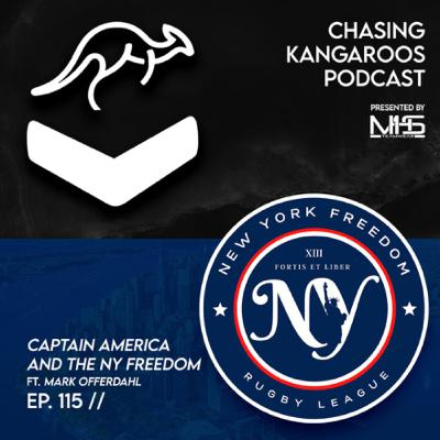 Ep #115 | Captain America and the New York Freedom