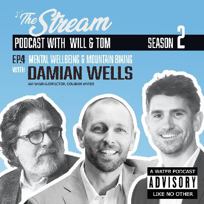 Ep 4: Mental wellbeing and mountain biking with Damian Wells