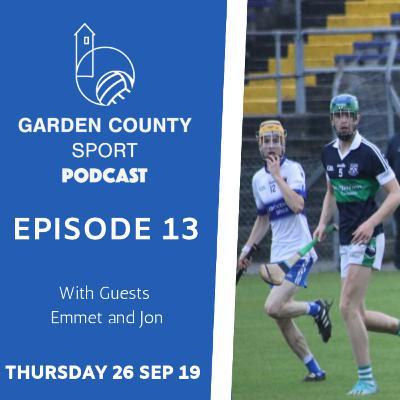 Garden County Sport Weekly Podcast 26/09/19 | Episode 13