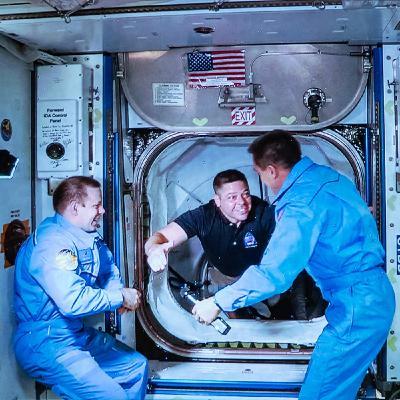 Crew Dragon Thrills While Mars Chills