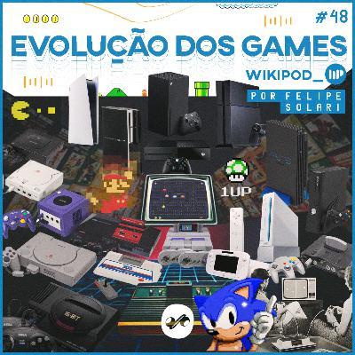 A EVOLUÇÃO DOS GAMES: DO ATARI AO PLAYSTATION 5!