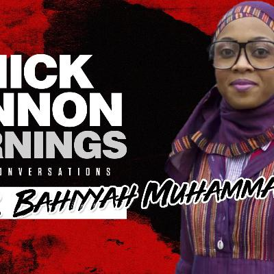 Dr. Bahiyyah Muhammad - Criminology Is The Study of A Black Man -- How Do You Explain This Conce
