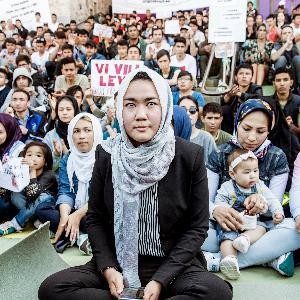 20. Fatemeh Khavari, Ung i Sverige