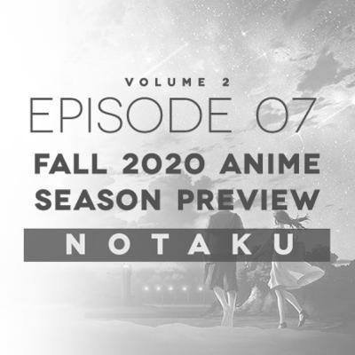 Fall 2020 Anime Season Preview