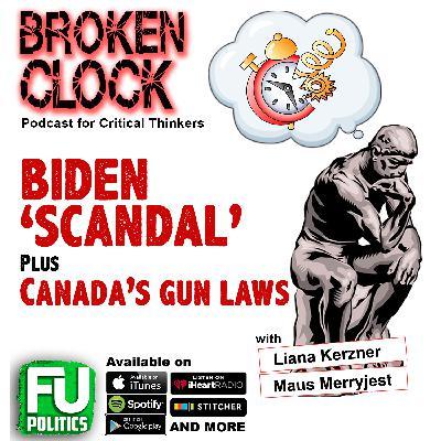 BROKEN CLOCK - JOE BIDEN 'SCANDAL'