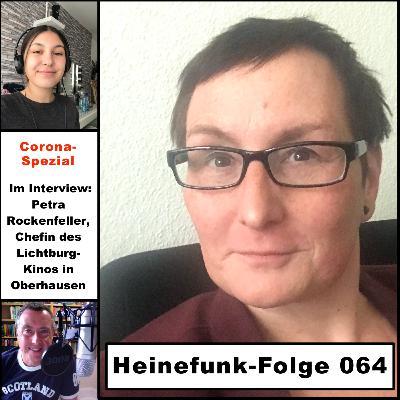 Heinefunk-Folge 064: Im Interview: Petra Rockenfeller, Chefin des Lichtburg-Kinos in Oberhausen