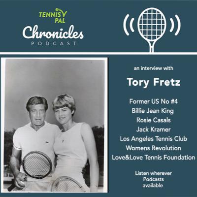 Former US #4 Tory Fretz interview recalls Billie Jean King Rosie Casals LA Tennis Club Jack Kramer and the Womens Revolution in Tennis