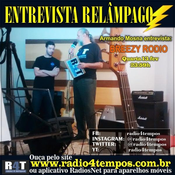 Rádio 4 Tempos - Entrevista Relâmpago 77