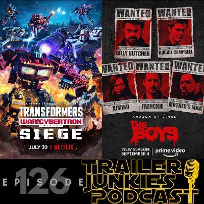 Transformers: War for Cybertron Trilogy-Siege, Halloween Kills & The Boy's Season 2
