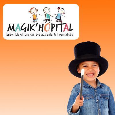 Carte postale radio [2020] : Magik'Hôpital > Ensemble, offrons du rêve aux enfants hospitalisés !