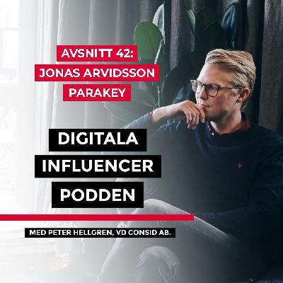 42. Jonas Arvidsson, VD på Parakey – Framtidens digitala nycklar