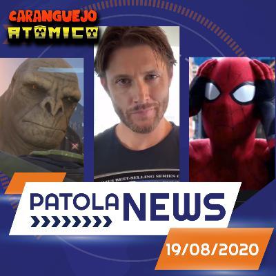 PATOLA NEWS 19/08/2020 | Um Maluco no Pedaço, Halo Infinity, Homem-Aranha e Dean Winchester em The Boys