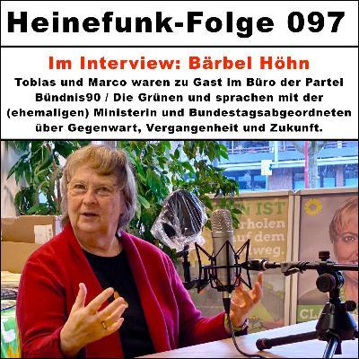 Heinefunk-Folge 097 - Im Interview: Bärbel Höhn
