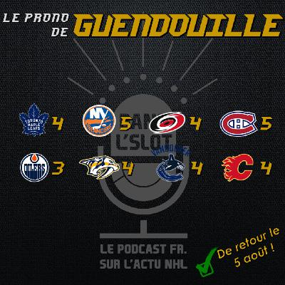 Playoffs NHL 2020 - Les pronos de Guendouille (Tour de qualification)