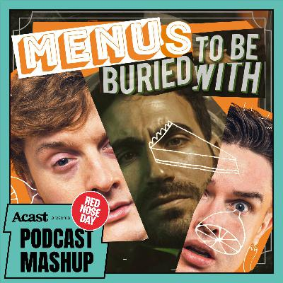 Menus To Be Buried With (with Ed Gamble, James Acaster & Brett Goldstein) • Comic Relief 2021