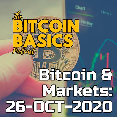 Bitcoin & Markets: 26-OCT-2020 | Bitcoin Basics (84)