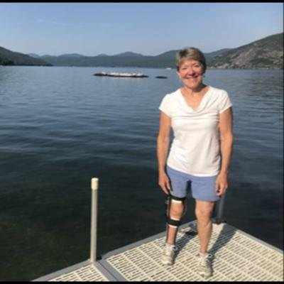 Polio Survivor Swims Lake George (Aired October 19 and 20, 2019)