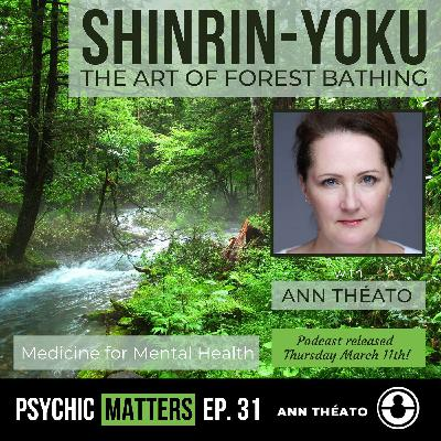 PM 031: Shinrin-Yoku - The Japanese Art Of Forest Bathing with Ann Théato