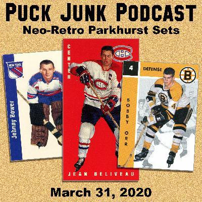 Neo-Retro Parkhurst Hockey Card Sets | #53 | 3/31/2020