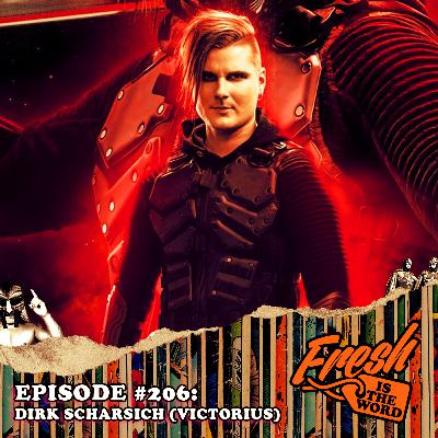 Episode #206: Dirk Scharsich aka Danger Dirk 3000, Guitarist of Ninja-Themed Power Metal Band 'Victorius', New Album Space Ninjas From Hell Available Now