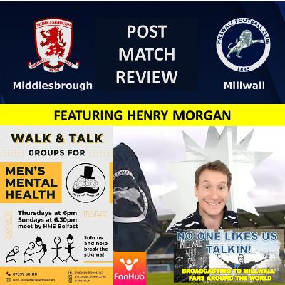 Henry Morgan Reviews Middlesbrough v Millwall 141220