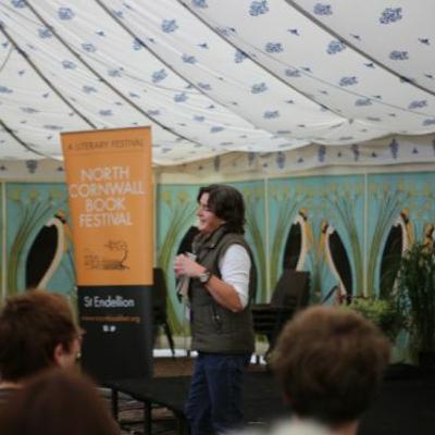 Natasha Carthew at North Cornwall Book Festival