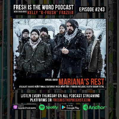 Episode #243: Vocalist Jaakko Mäntymaa and Guitarist Nico Mänttäri of the Finnish Melodic Death/Doom Metal Band Mariana's Rest, New Album 'Fata Morgana' Out Now Via Napalm Records