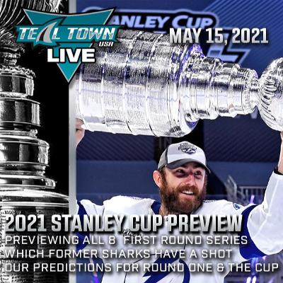2021 NHL Stanley Cup Playoffs Preview - 5-15-2021 - Teal Town USA Live