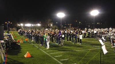 Horns Up, Forward March: The Cavalier Marching Band