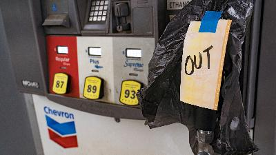 People are on the hunt for gas in the Southeast