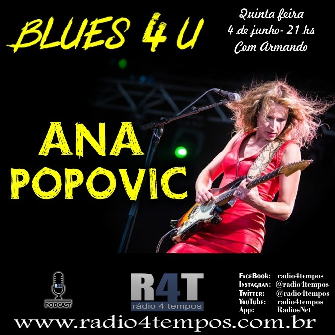 Rádio 4 Tempos - Blues 4 U 20:Rádio 4 Tempos