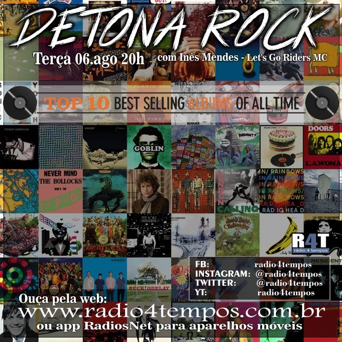 Rádio 4 Tempos - Detona Rock 18:Rádio 4 Tempos