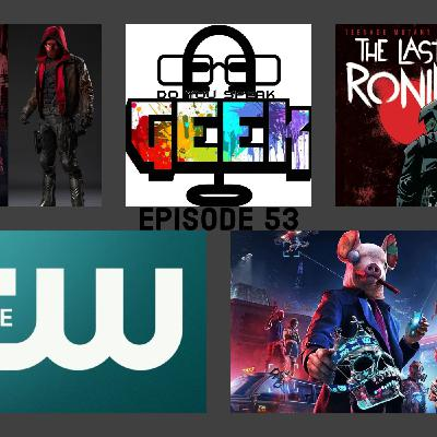 Episode 53 (Watch Dogs Legion, The Last Ronin, Red Hood, Batwoman, Sean Connery and more)