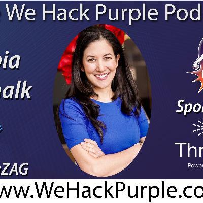 We Hack Purple Podcast Episode 35 with Guest Zenobia Godschalk
