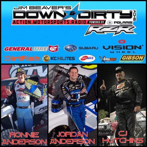Jordan Anderson, Ronnie Anderson, & CJ Hutchins On Air!
