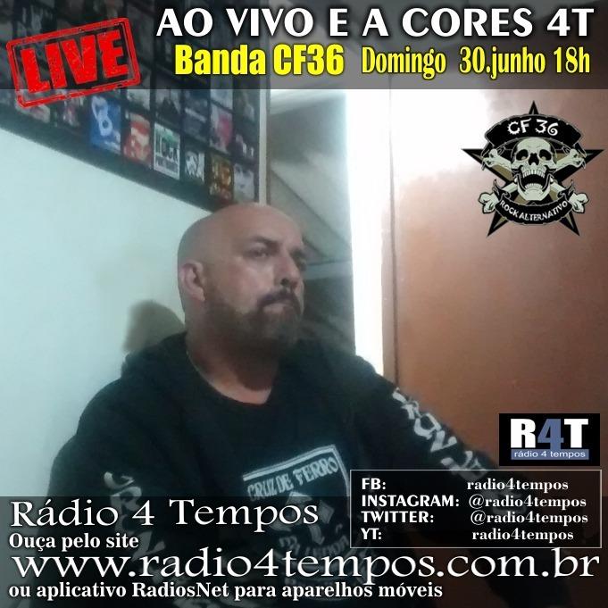 Rádio 4 Tempos - Ao Vivo E a Cores 57:Rádio 4 Tempos