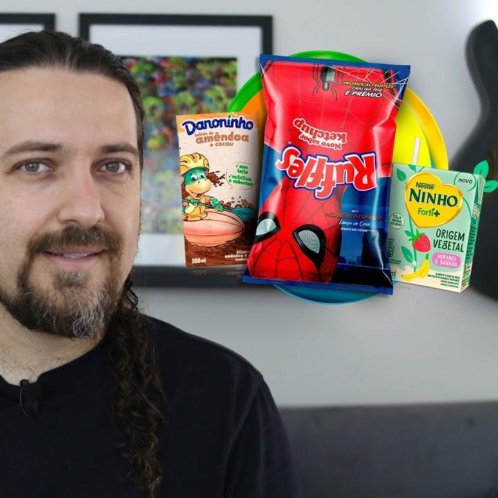 Ruffles Ketchup, Ninho Forti+ e Danoninho Amêndoa estão no quadro 'É Vegano Ou Não É?'
