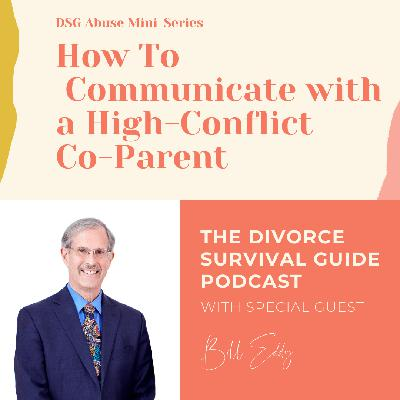 DSG Abuse Mini-Series: How to Communicate with a High-Conflict Co-Parent with Bill Eddy