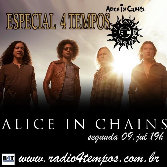 Rádio 4 Tempos - Especial 4 Tempos - Alice in Chains